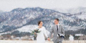 Nebrangios vestuves ziema